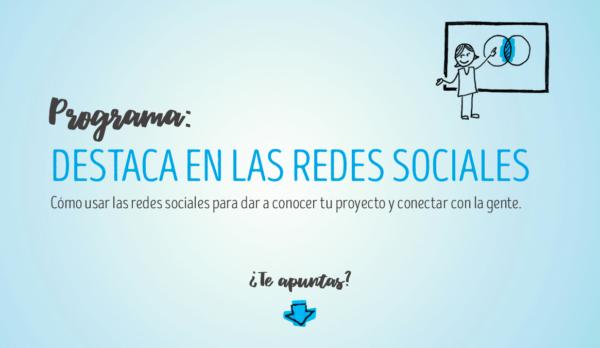 Programa formativo: Destaca en las redes sociales