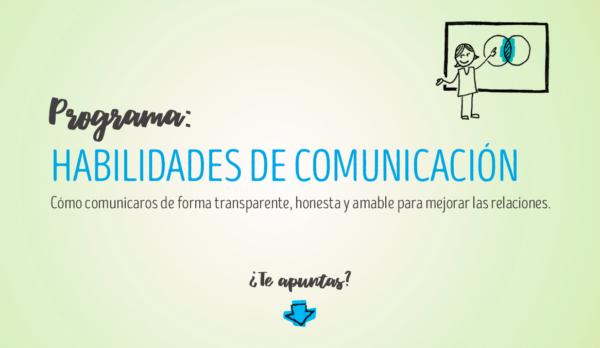Programa formativo: Habilidades de comunicación