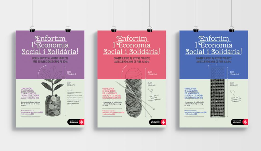 Diseño de la imagen principal y modalidades de la campaña de subvenciones 2018